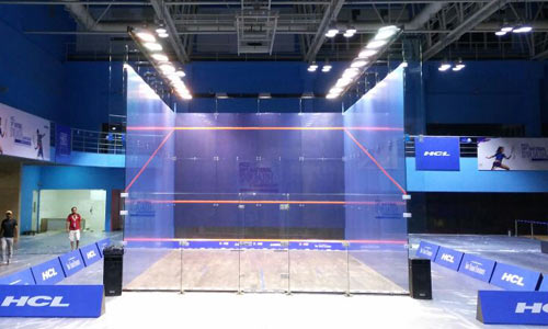 All Glass Court (Show Glass Court)